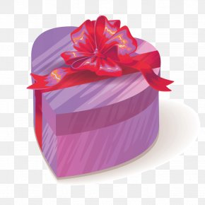 Vector Love Gift Box - Gift Euclidean Vector Valentine's Day PNG