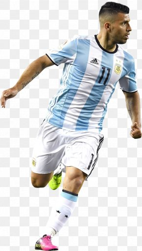 Aguero Argentina - Sergio Agüero 2018 World Cup Argentina National Football Team Manchester City F.C. Jersey PNG