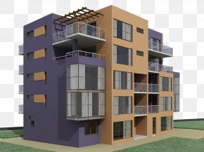 Residential Structure - Window Condominium House Residential Area Building PNG