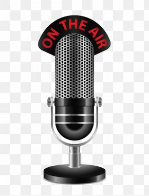 Microphone - Podcast Episode Television Show Streaming Media BlogTalkRadio PNG