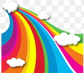 Vector Rainbow - Rainbow Cloud Iridescence Euclidean Vector PNG
