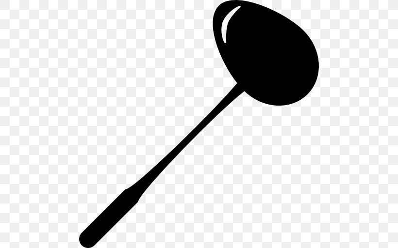 Spoon Kitchen Utensil Tool Food Scoops, PNG, 512x512px, Spoon, Black And White, Cutlery, Egg Spoon, Food Scoops Download Free