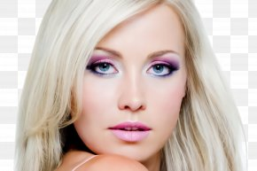 Beauty Lip - Hair Face Eyebrow Blond Skin PNG