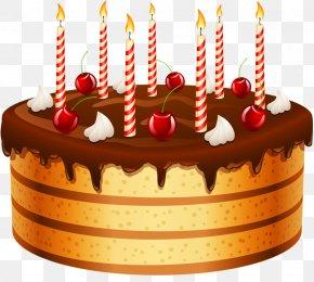 Birthday Cake - Birthday Cake Chocolate Cake Icing Cupcake PNG