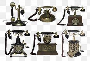 Telephone Icon - Telephone Telefon Retro Drawing Desktop Wallpaper PNG