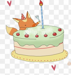 Birthday Cake - Birthday Cake Party Candle PNG