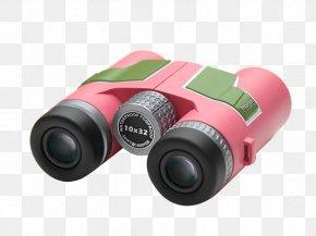 Pink Binoculars - Binoculars Icon PNG