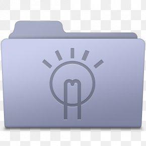 Idea Folder Lavender - Brand Rectangle Font PNG
