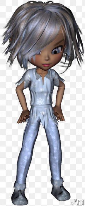 Fairy Black Hair Legendary Creature Lutin Brown Hair PNG