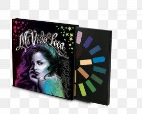 Kat Von D - Kat Von D Mi Vida Loca Remix Eye Shadow Sephora Palette PNG