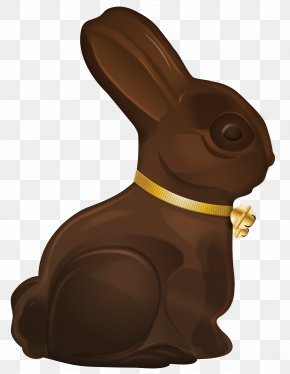Easter Choco Bunny Clip Art Image - Easter Bunny Rabbit Clip Art PNG