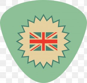 Green Flag Badge - Flag Of The United Kingdom T-shirt British Empire PNG