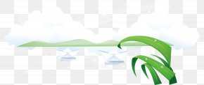 Spring Green Background Spring Clip - Green Chroma Key Material Spring PNG