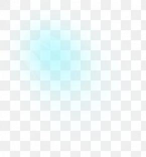 Light Circle - Blue Azure Turquoise Teal White PNG