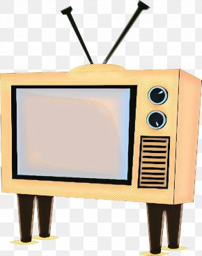 Television Set Multimedia - Vintage Background PNG