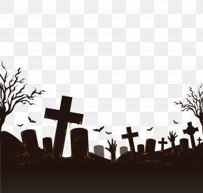 Vector Cemetery - Halloween Icon PNG