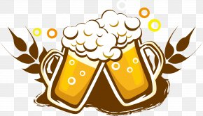 Beer Logo Logo Design - Draught Beer Wine Drink Bottle PNG