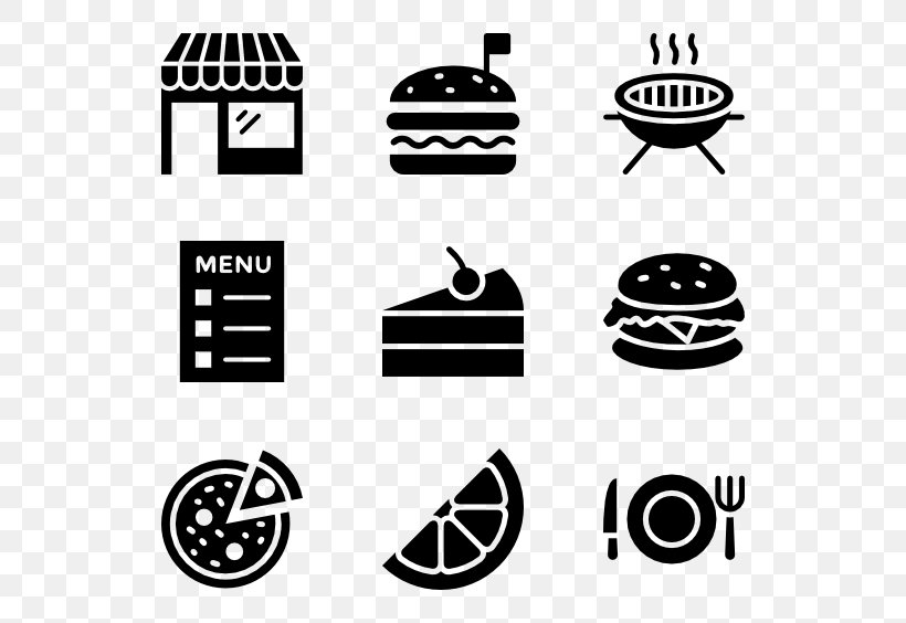 Fast Food Vegetarian Cuisine, PNG, 600x564px, Food, Black, Black And White, Brand, Chicken Meat Download Free