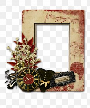Watch Decorative Borders - Picture Frame Photography Illustration PNG