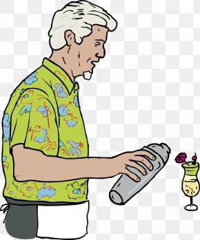 Cocktail,Bartender,male - Cocktail Bartender Clip Art PNG