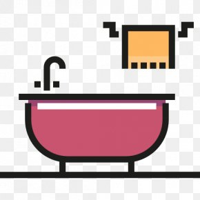 Bathtub - Towel Bathtub Icon PNG