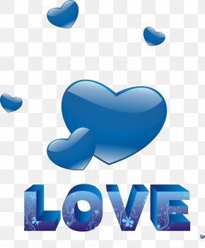 Blue Heart - Blue Heart Love PNG