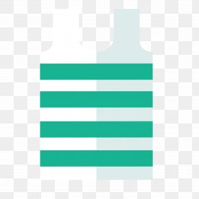 Simple Vest - Brand Green Pattern PNG