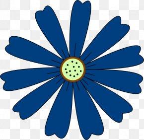 Blue Flower - Cornflower Blue Flower Clip Art PNG