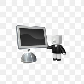 Computer Monitor - Computer Monitor 3D Computer Graphics PNG
