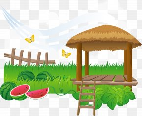 Vector Watermelon Garden - Guatemala Watermelon Child Illustration PNG