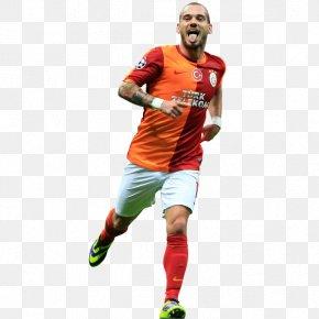 T-shirt - Jersey T-shirt Football Player Soccer Player PNG