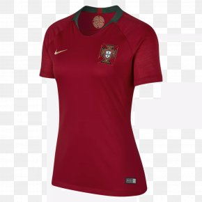 T-shirt - 2018 FIFA World Cup Portugal National Football Team T-shirt Jersey PNG