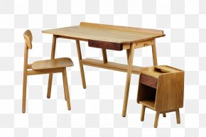 Wooden Computer Desk - Table K.I.T.T. Desk Relax Furniture Chair PNG
