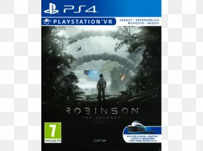 Solde - PlayStation VR Robinson: The Journey PlayStation 4 Video Game CRYENGINE PNG