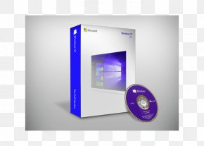 Windows 10 Dvd Cover - Computer Software 64-bit Computing Windows 10 Microsoft Windows Microsoft Corporation PNG