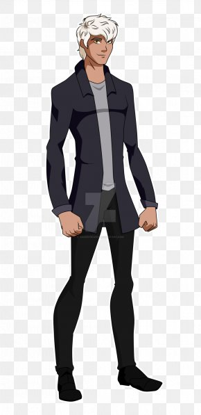 Middle Hair Style - DeviantArt Tuxedo M. Young Justice PNG