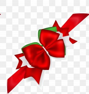 Red Bow - Ribbon Red Illustration PNG