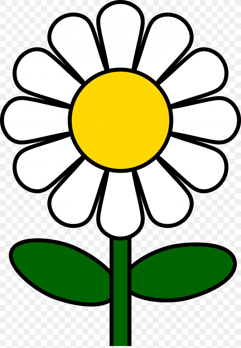 Common Daisy Clip Art, PNG, 1969x2849px, Common Daisy, Area, Artwork, Black And White, Blog Download Free