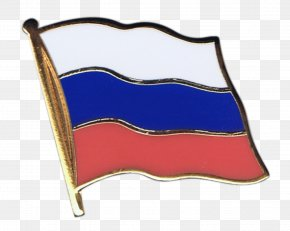 American Football - Flag Of Russia Lapel Pin PNG