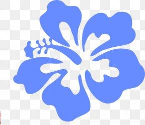 Blue Hibiscus Cliparts - Hawaiian Hibiscus Hawaiian Hibiscus Clip Art PNG