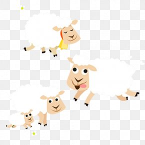 Sheep - Sheep Wool Yarn Illustration PNG