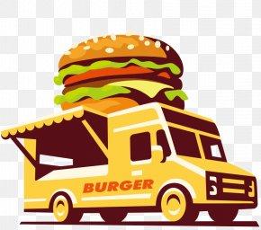 Car - Hot Dog Hamburger Pizza Cafe Food Truck PNG
