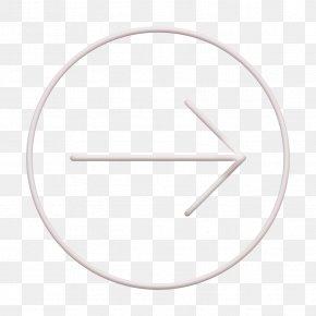 Thin Icon Small Icon - Arrow Icon Circle Icon Detour Icon PNG