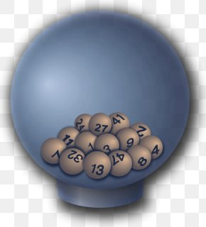 Lottery Balls - Lotto 6/49 Lottery Powerball United States Mega Millions PNG