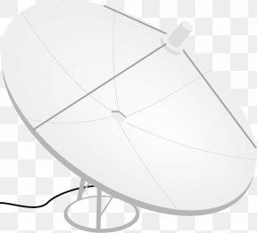Vector Painted Antenna - Communications Satellite Signal Antenna PNG