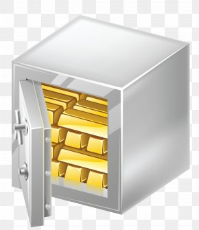 Safe With Gold Clipart Picture - Portable Document Format Safety Computer File PNG