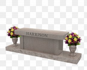 Rock - Southern Illinois Monuments Headstone Granite Memorial Bench PNG