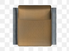 Seat - Square Angle Brown PNG