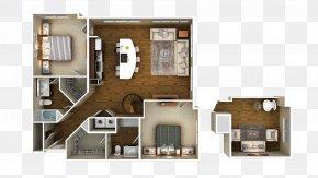 3D Floor Plan - 3D Floor Plan House Plan PNG