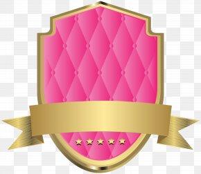 Elegant Label Template Pink Clip Art Image - Pink Clip Art PNG